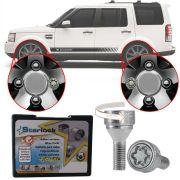 Trava Antifurto Anti Roubo de Roda Parafuso Porca Farad Starlock Land Rover Discovery 4 2005 em Diante Com Mais de 10.000 Segredos AG5/E