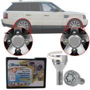 Trava Antifurto Anti Roubo de Roda Parafuso Porca Farad Starlock Land Rover Range Rover Sport 2005 em Diante Com Mais de 10.000 Segredos AG5/E