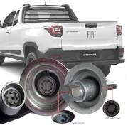 Trava Antifurto Anti Roubo Estepe Fiat Strada 2020 21 Em Diante 125/80 R16 Sparelock Com Mais de 10.000 Segredos FT111