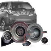 Trava Antifurto Anti Roubo Estepe Honda Fit 2007 Em Diante Sparelock Com Mais de 10.000 Segredos