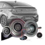 Trava Antifurto Anti Roubo Estepe Hyundai Elantra 2013 Em Diante Sparelock Com Mais de 10.000 Segredos