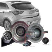 Trava Antifurto Anti Roubo Estepe Hyundai I30 2009 Em Diante Sparelock Com Mais de 10.000 Segredos