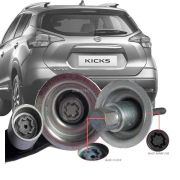 Trava Antifurto Anti Roubo Estepe Nissan Kicks R15 Sparelock Com Mais de 10.000 Segredos FT46