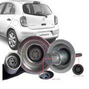 Trava Antifurto Anti Roubo Estepe Nissan March 2014 Em Diante Sparelock Com Mais de 10.000 Segredos