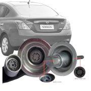 Trava Antifurto Anti Roubo Estepe Nissan Versa 2011 Em Diante Sparelock Com Mais de 10.000 Segredos