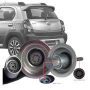 Trava Antifurto Anti Roubo Estepe Toyota Etios Cross 2012 Em Diante Sparelock Com Mais de 10.000 Segredos FT08