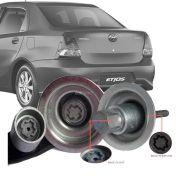 Trava Antifurto Anti Roubo Estepe Toyota Etios Sedan 2012 Em Diante Sparelock Com Mais de 10.000 Segredos FT08