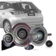 Trava Antifurto Anti Roubo Estepe Toyota Yaris Hatch 2019 Em Diante Sparelock Com Mais de 10.000 Segredos FT08