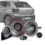 Trava Antifurto Anti Roubo Estepe Volkswagen Novo Polo 2017 Em Diante Sparelock Com Mais de 10.000 Segredos FT43