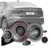 Trava Antifurto Anti Roubo Estepe Volkswagen Virtus 2017 Em Diante Sparelock Com Mais de 10.000 Segredos FT43