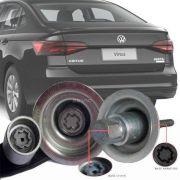 Trava Antifurto Anti Roubo Estepe Volkswagen Virtus 2018 Em Diante Sparelock Com Mais de 10.000 Segredos