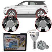Trava Parafusos Porcas Antifurto Roubo Farad Starlock Range Rover Evoque Com Mais de 10.000 Segredos DLF/E