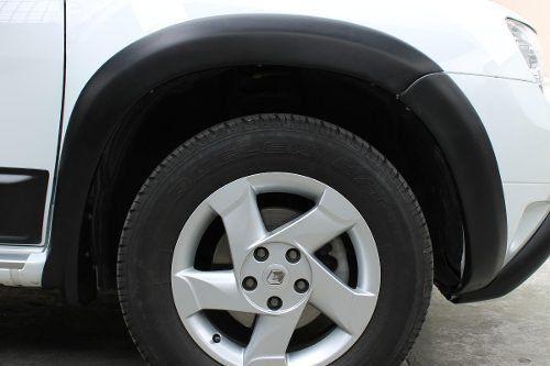 Jogo Completo Alargador de Para Lama Renault Duster 2012 13 14 15 8 Peças