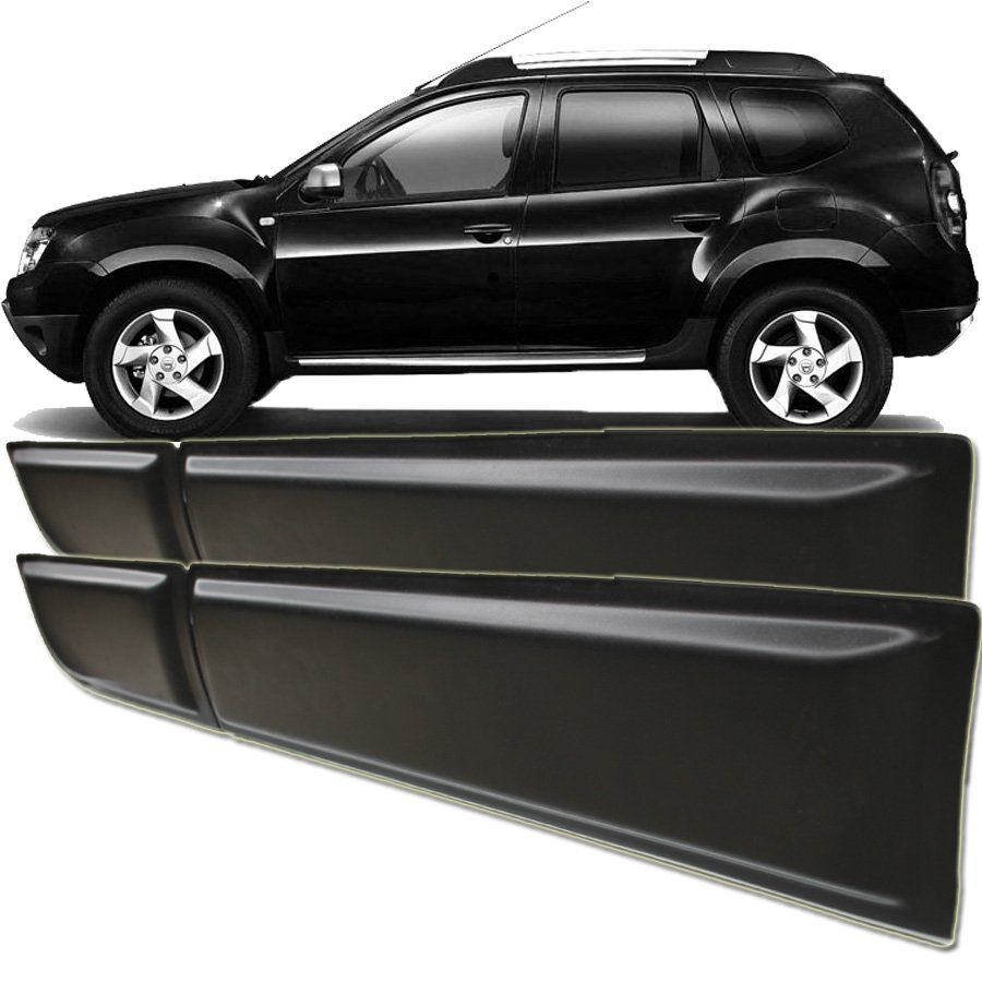 Friso Lateral Preto Fosco Renault Duster 2011 12 13 14 15 16 17 18 19 Tg Poli