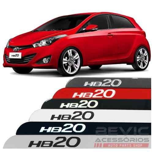 Friso Lateral na Cor Original Hyundai Hb20 2012 13 14 15 16 17 18 19