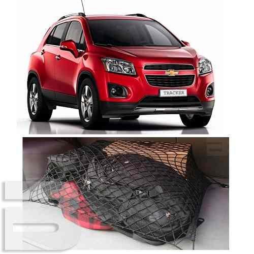 Rede Elástica com Ganchos Porta Bagagem Malas Chevrolet Tracker Trailblazer Captiva