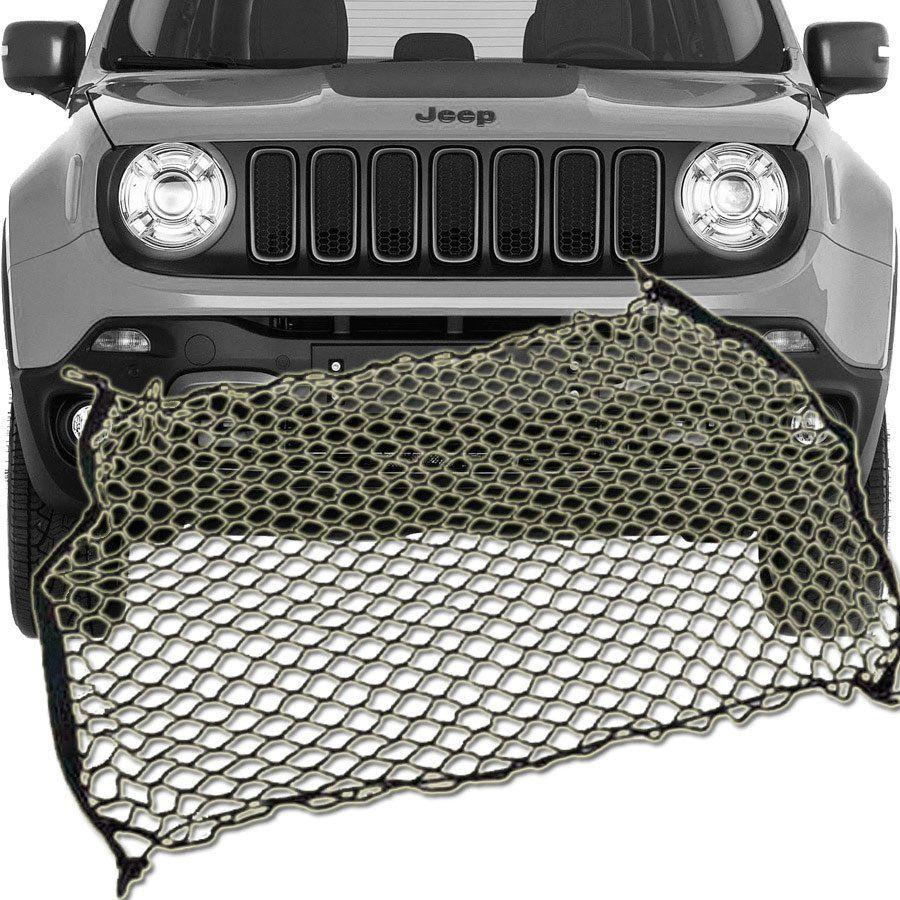 Rede Elástica com Ganchos Porta Bagagem Malas Jeep Renegade 2015 16 17 18 19
