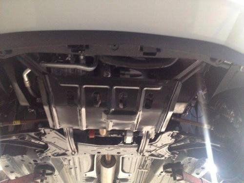 Protetor de Carter Completo Ford Ka 2015 16 17 18 Com Parafusos Fixadores