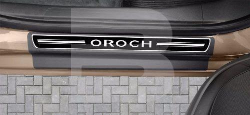 Soleira Resinada Premium Renault Oroch 2017 18 19 8 Peças