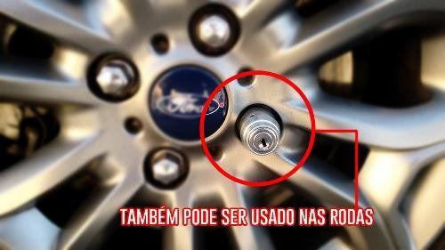 TRAVA ANTIFURTO RODA ESTEPE CHEVROLET S10 .../11