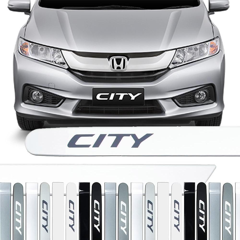 Friso Lateral na Cor Original Honda City 2009 10 11 12 13 14 15