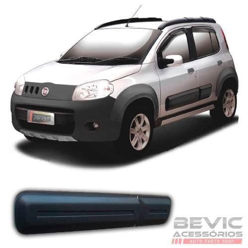 Friso Lateral Borrachão Fiat Novo Uno 2010 11 12 13 14 15 16 17 18 19