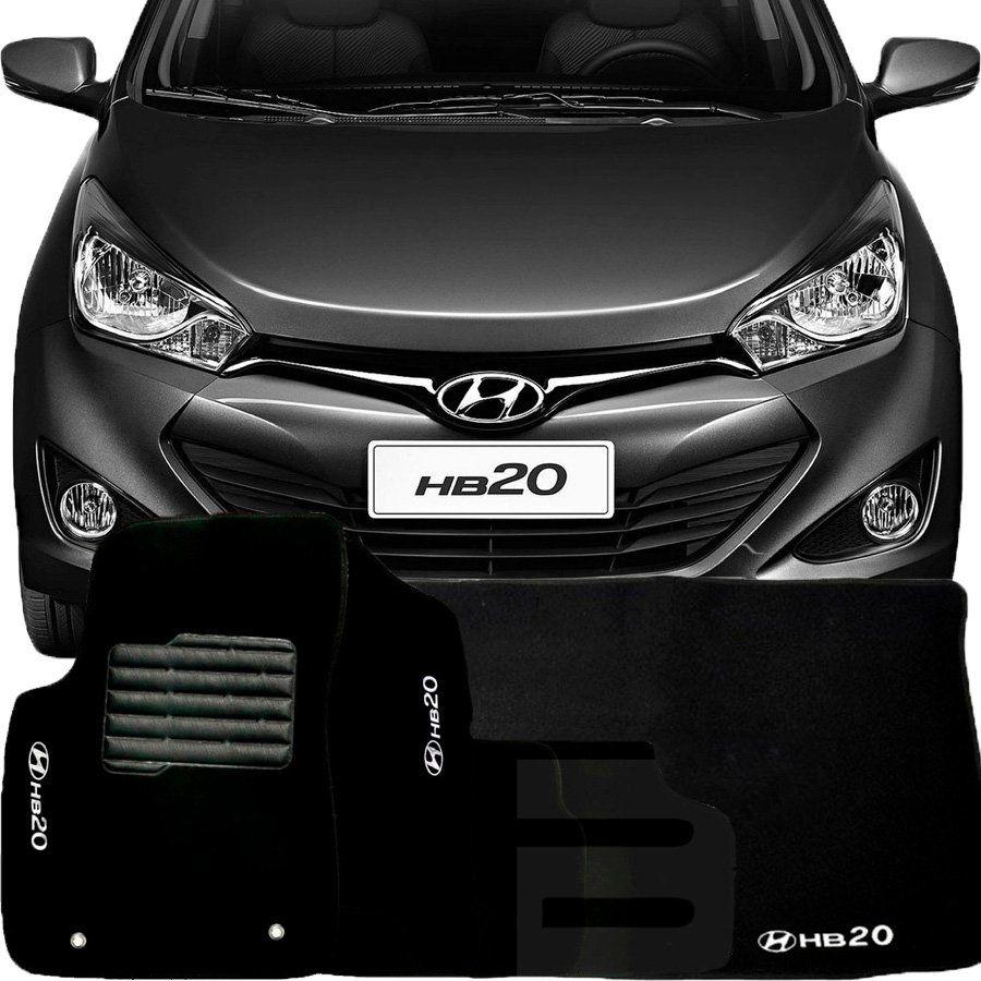 Tapete Carpete Tevic Hyundai Hb20 Completo Com Porta Malas 2012 13 14 15 16