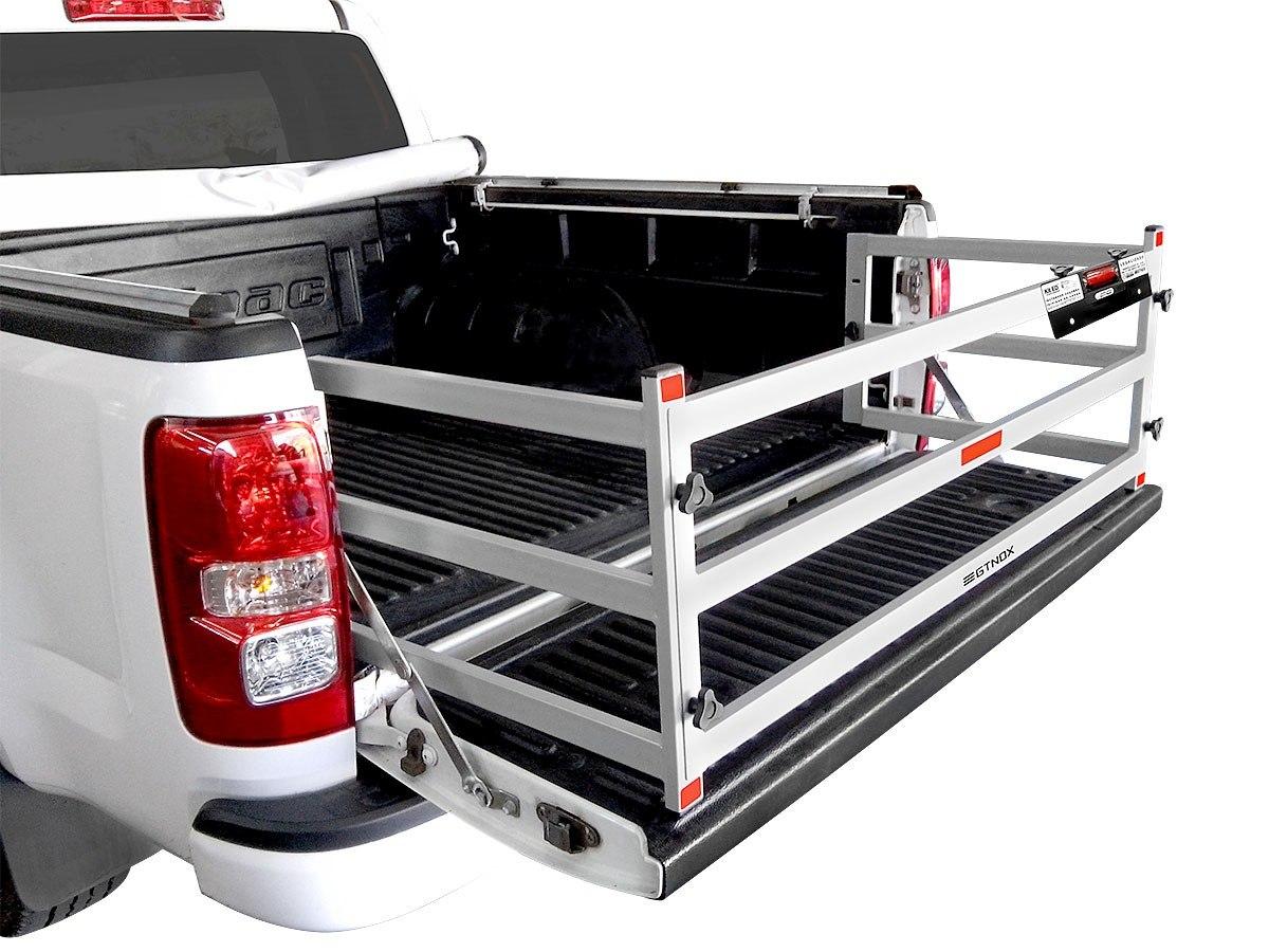 Extensor de Caçamba Toyota Hilux 2016 17 18 19 Com Divisor de Carga