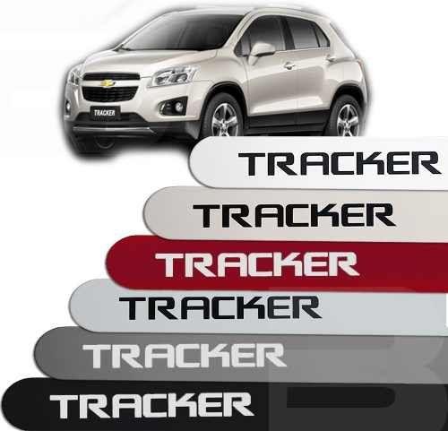 Friso Lateral na Cor Original Chevrolet Tracker 2013 14 15 16 17 18 19 20 21