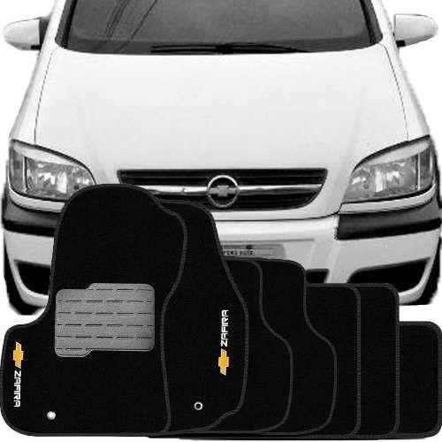 Tapete Carpete Tevic Chevrolet Zafira 2001 Até 2012 7 Lugares