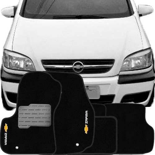 Tapete Carpete Tevic Chevrolet Zafira 2001 Até 2012