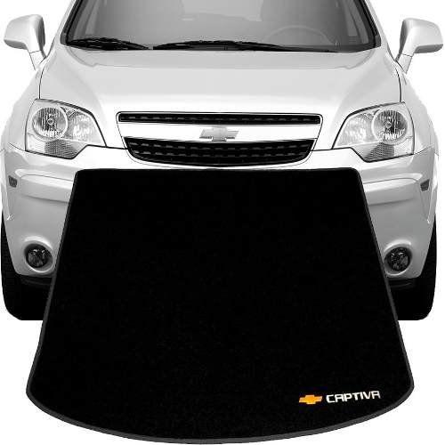 Tapete Carpete Porta Mala Tevic Chevrolet Captiva 2008 Em Diante