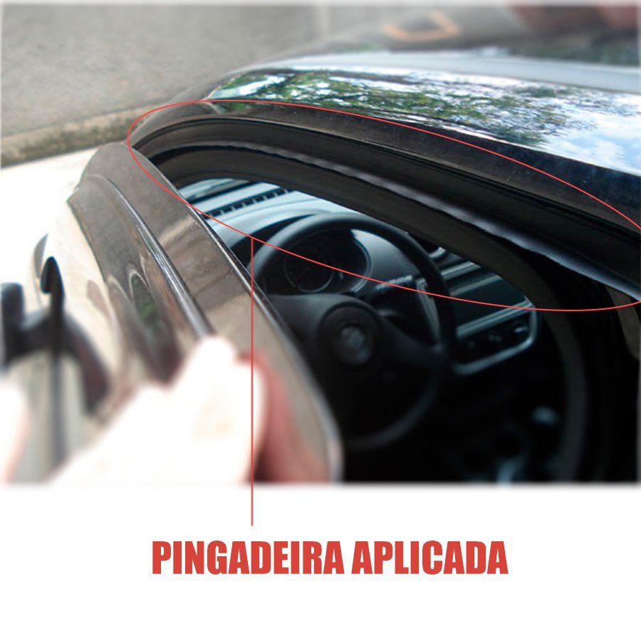 Friso de Teto Pingadeira Fiat Palio ( Todos os Modelos ) 4 Portas - Material Borracha