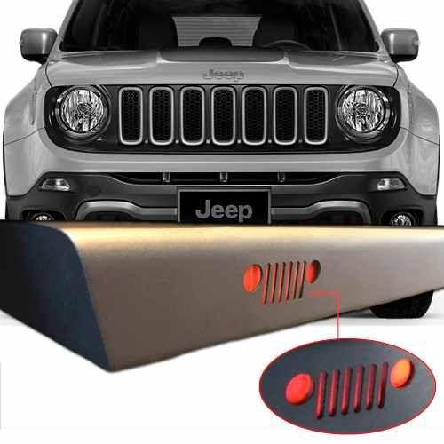 Estribo Plataforma Jeep Renegade Personalizado 2016 2017 18 19