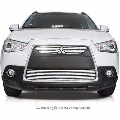 Sobre Grade Mitsubishi ASX 2010 A 2012 Cromada Aço Inox