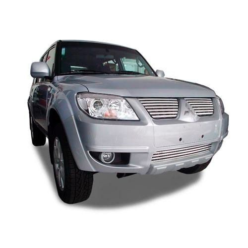 Sobre Grade Mitsubishi Pajero TR4 2010 2011 2012 Cromada Aço Inox