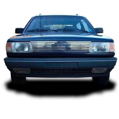Sobre Grade Volkswagen Gol Parati e Saveiro 1991 A 1994 Cromada Aço Inox Elite