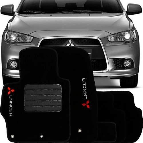 Tapete Carpete Premium Tevic Mitsubishi Lancer 2012 Em Diante
