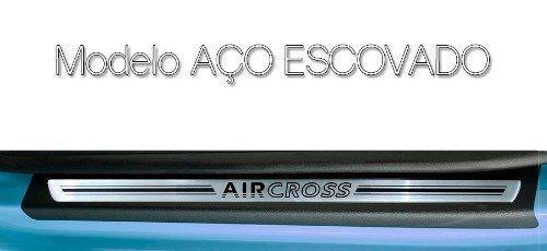 Soleira Resinada Premium Citroen Air Cross 2011 12 13 14 15 16 17 18 8 Peças