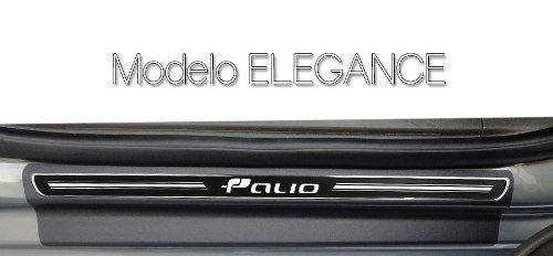 Soleira Resinada Premium Fiat Palio 2012 13 14 15 8 Peças