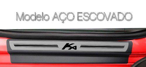 Soleira Resinada Premium Ford Ka 2014 15 16 17 18 19 20 21 8 Peças