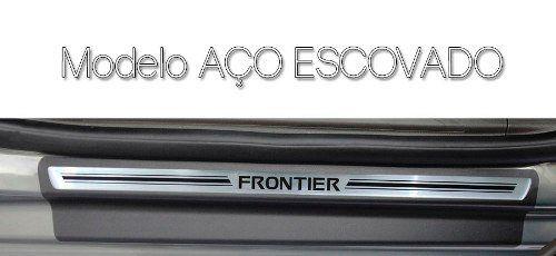 Soleira Resinada Premium Nissan Frontier 2008 09 10 11 12 13 14 15 16 8 Peças