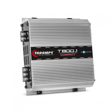 Amplificador Taramps T 800.1 Compact 1 Canal - 2 OHMS