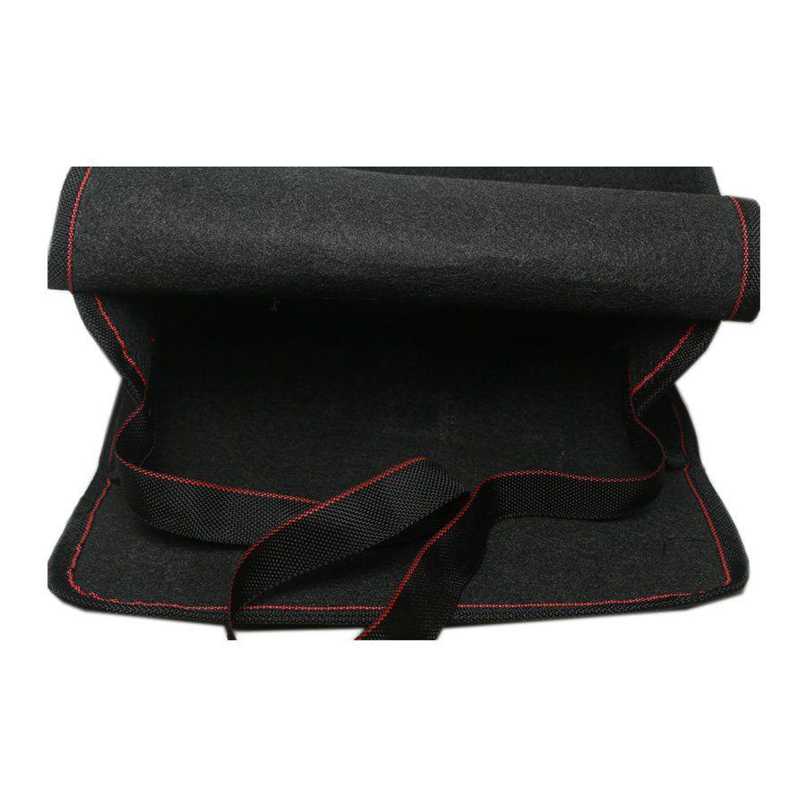 Bolsa Organizadora Porta Mala Tevic Audi Com Velcro Fixadores 14 Litros