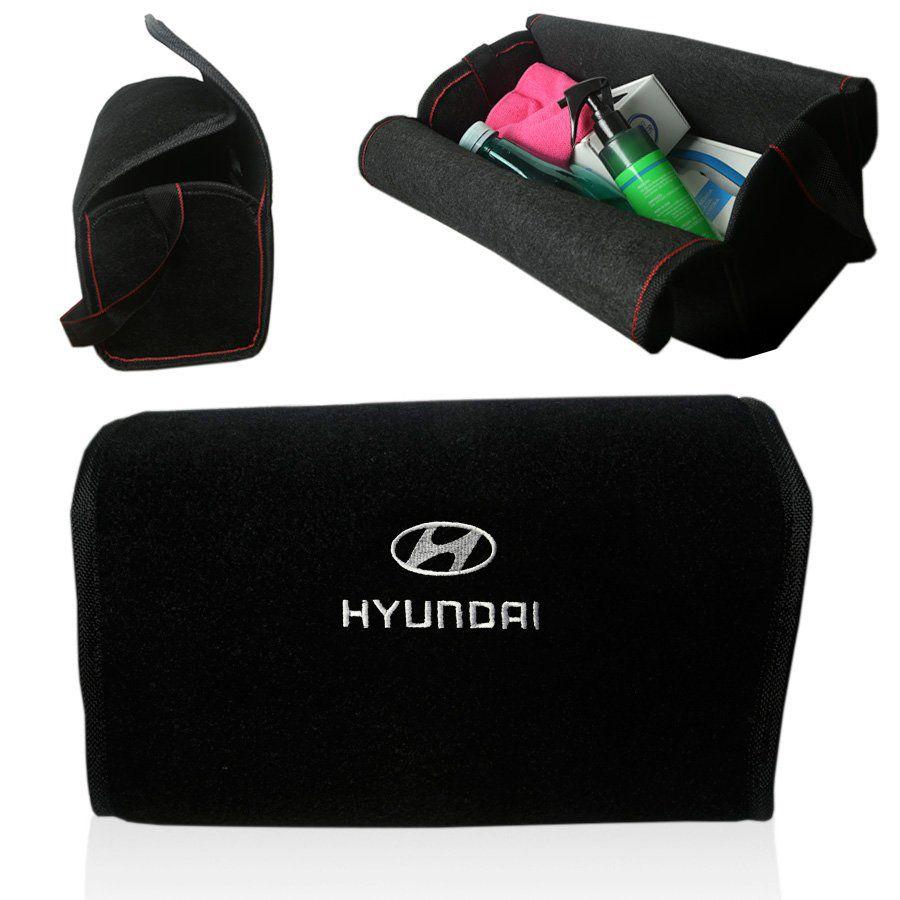 Bolsa Organizadora Porta Mala Tevic Hyundai Com Velcro Fixador 14 Litros