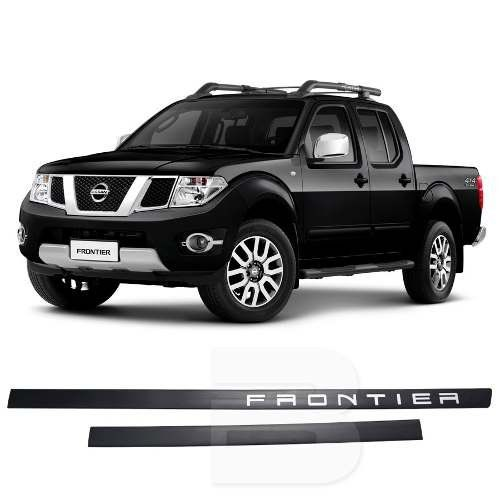 Friso Lateral na Cor Original Nissan Frontier 2008 09 10 11 12 13 14 15 16 17 18
