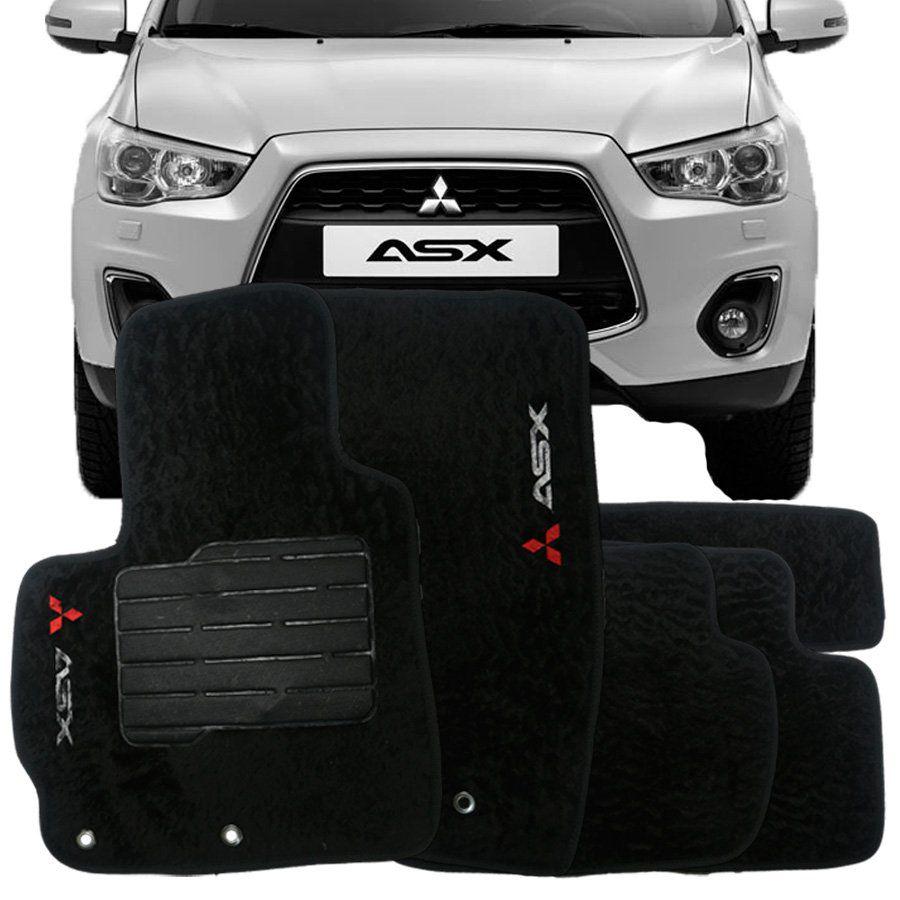 Tapete Carpete Premium Tevic Mitsubishi Asx 2010 Em Diante