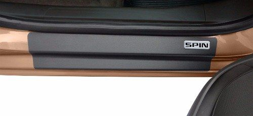 Soleira Resinada Mini Premium Chevrolet Spin 2012 13 14 15 16 17 18 19 6 Peças