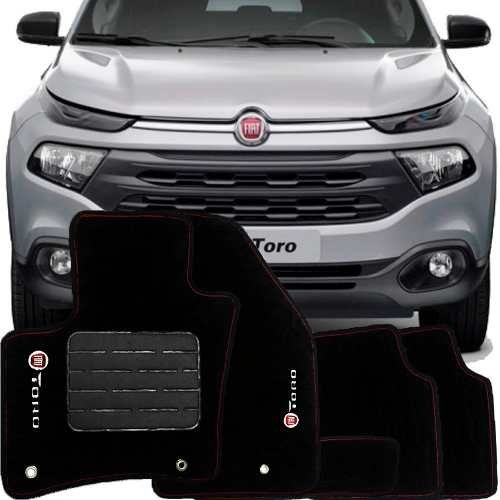 Tapete Carpete Premium Tevic Fiat Toro 2016 17 18