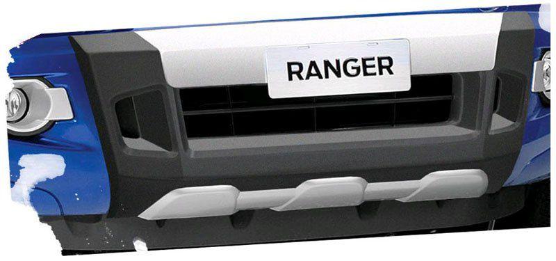 Kit Overbumper Bumper Front Bumper Ford Ranger 2012 13 14 15 Cabine Simples e Cabine Dupla